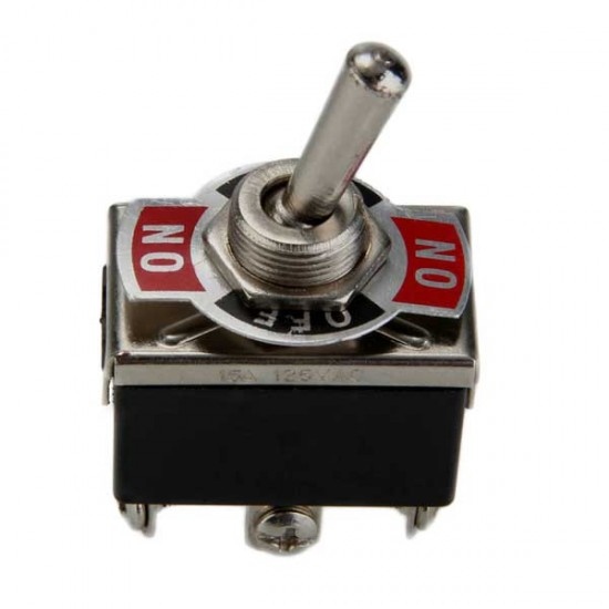 Intrerupator metal simplu ON/OFF/ON