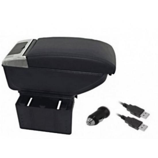 Cotiera auto cu 2 USB