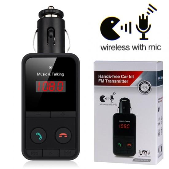 MP3 player auto cu emitator si handsfree BT