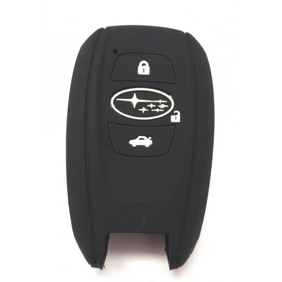 Husa silicon Subaru 3 butoane