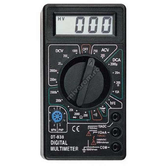 Multimetru 838 (sonda temperatura)
