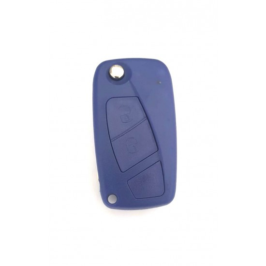 Carcasa cheie Fiat 2 but  briceag albastra