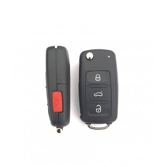 Carcasa cheie briceag VW 4 butoane