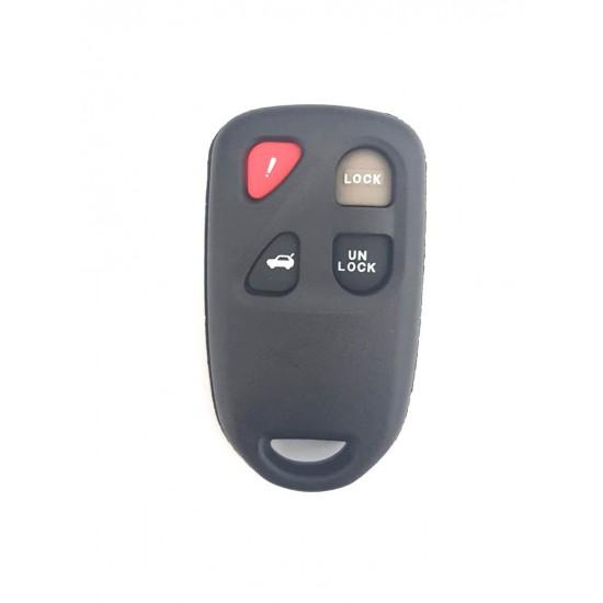 Carcasa cheie Mazda 3+1 buton panica