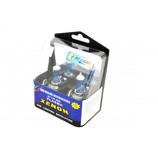 Bec auto albastru H1 12V 55W