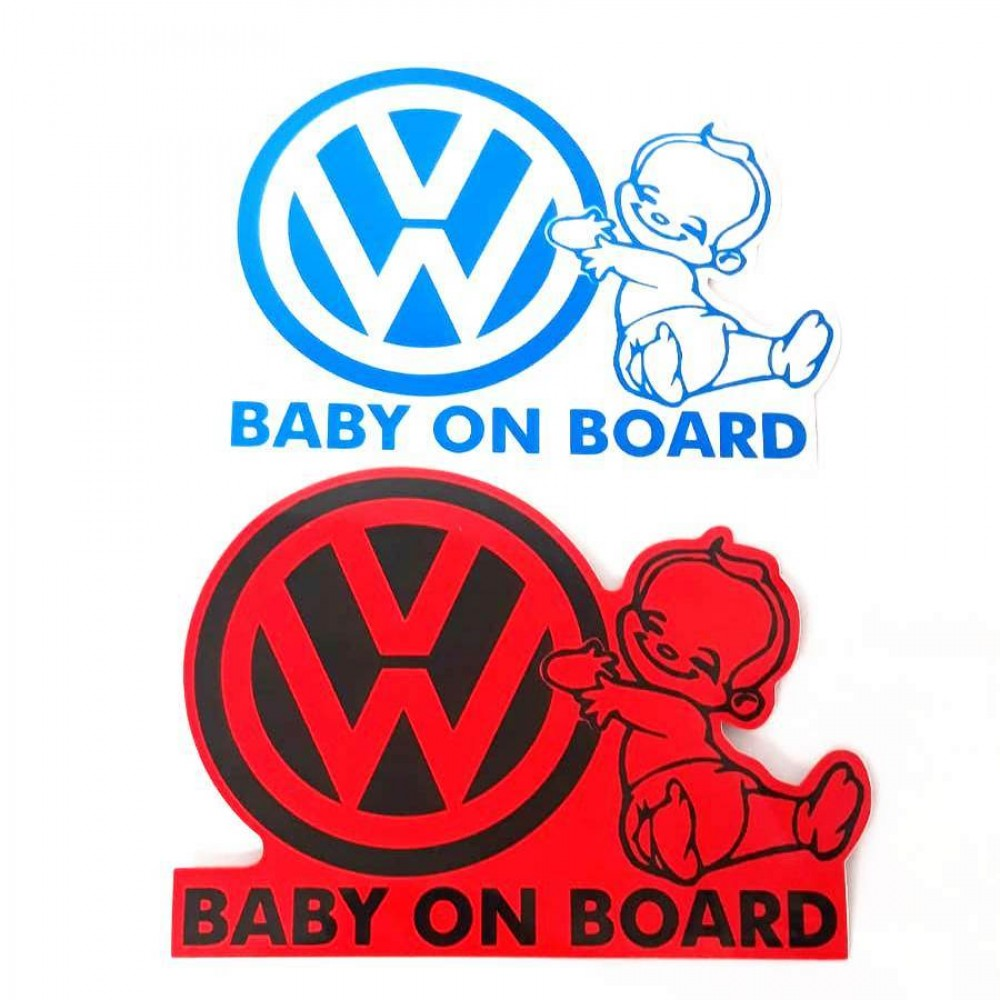 Abtibild baby on board VW