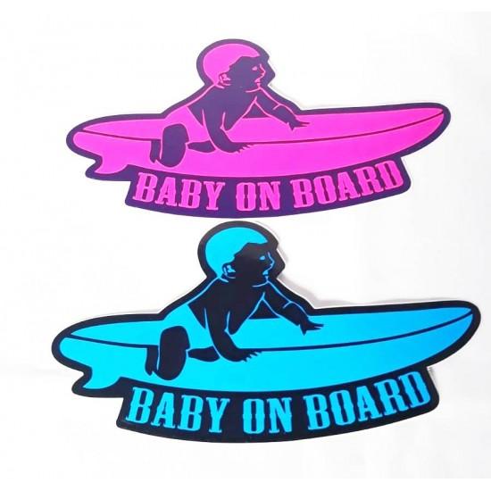 Abtibild baby on board surf