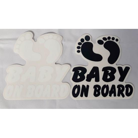 Abtibild baby on board talpa