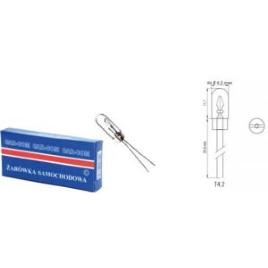 Bec halogen 12V 0.6W