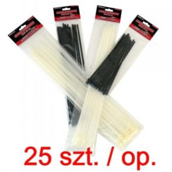 Fasete 200mm 25/set negru