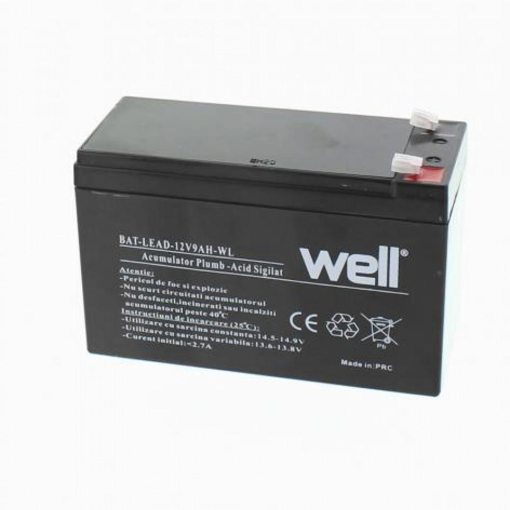 Acumulator  12V 9A Well