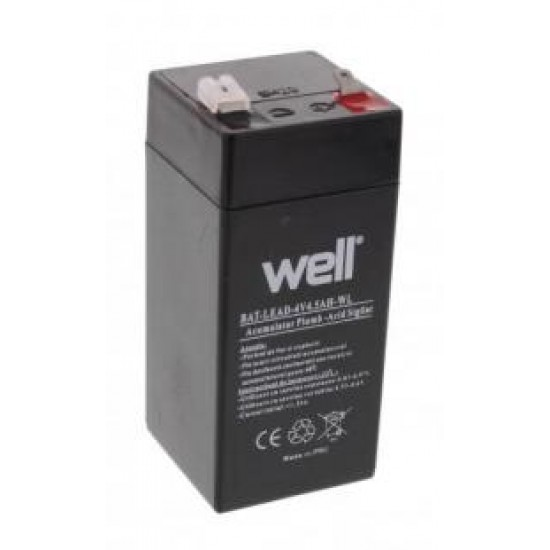 Acumulator 4V 4.5A Well