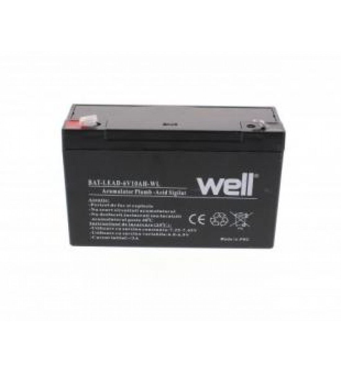 Acumulator 6V 10A Well