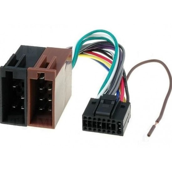 Conector ISO-Kenwood 16P