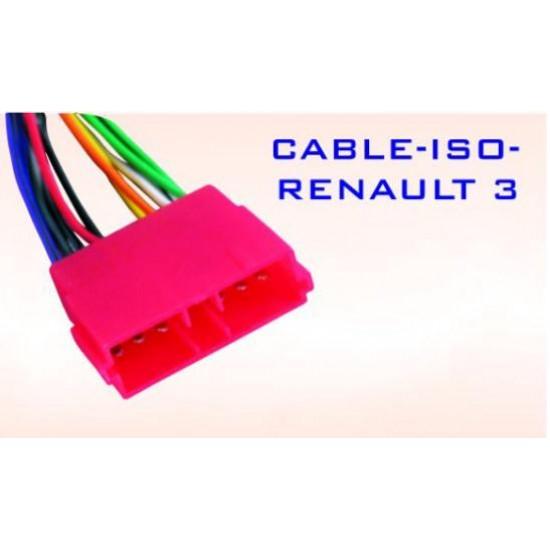 Conector ISO-Renault 3