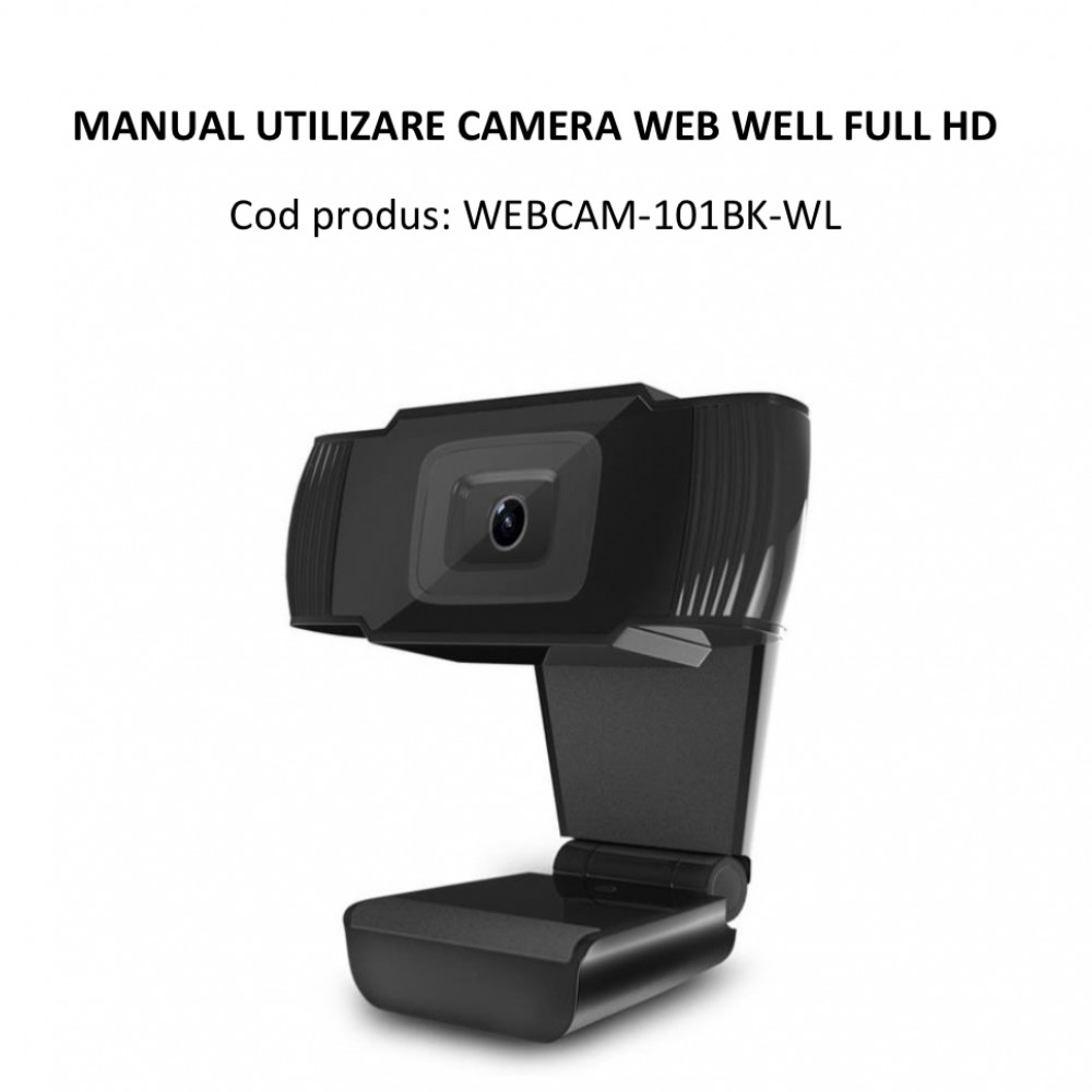 Camera web 1080p