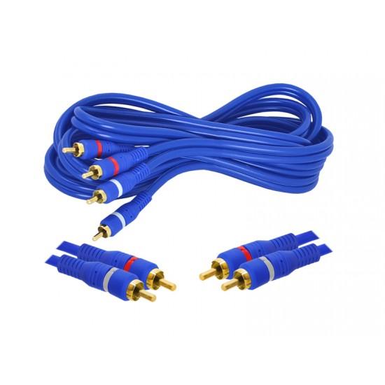 Cablu 2RCA-2RCA OFC ecranat