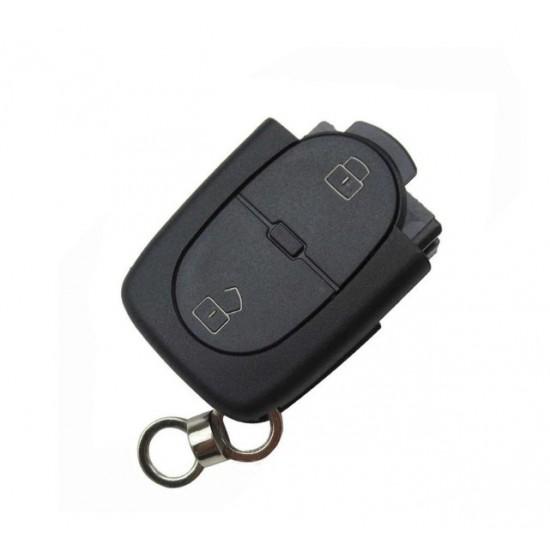 Carcasa cheie Audi 2 butoane cu locas pt baterie 2032