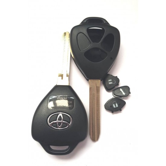 Carcasa cheie Toyota 3 butoane cu lamela TOY 43