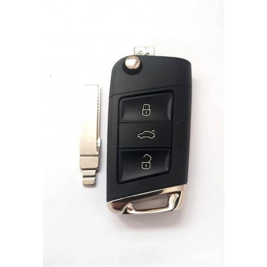 Carcasa cheie briceag VW Golf 3 but pentru model KD600