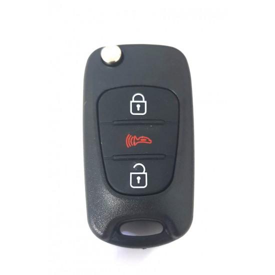 Carcasa cheie briceag Hyundai 3 but CHY 009