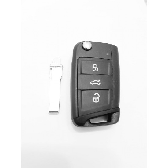 Carcasa cheie briceag VW Originala 3 but