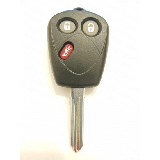 Carcasa cheie Saab 3 butoane