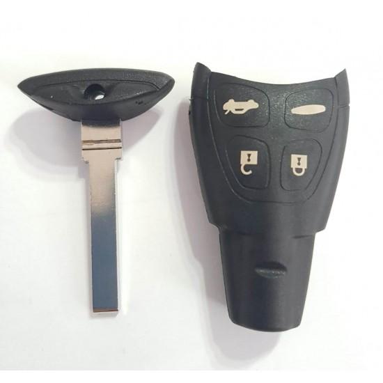 Carcasa Cheie Saab 4 butoane smart cu lamela