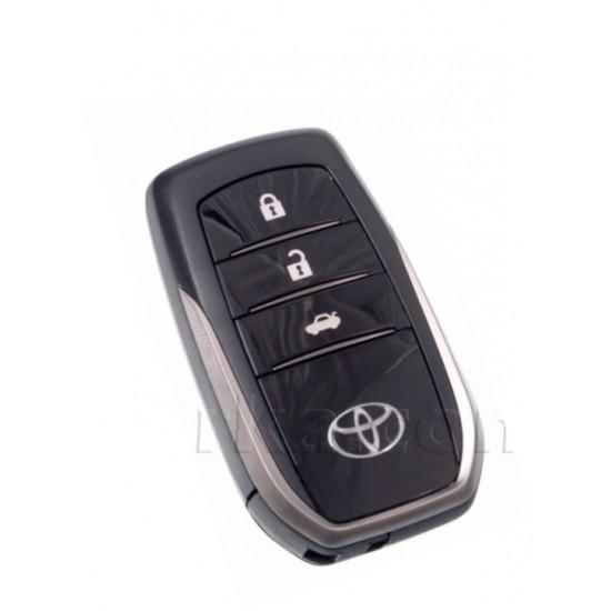 Carcasa cheie smart Toyota 3 but