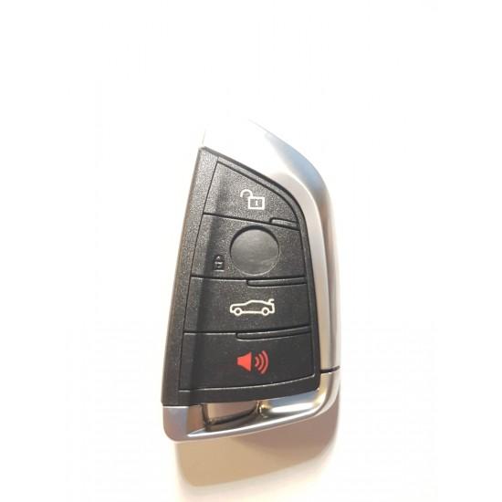 Carcasa cheie BMW 3+1 buton panica