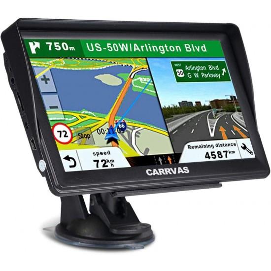 "Navigatie GPS Carrvas 7"""