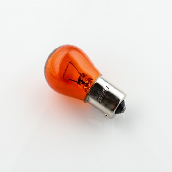 Bec halogen 24V 21W BAU15S portocaliu