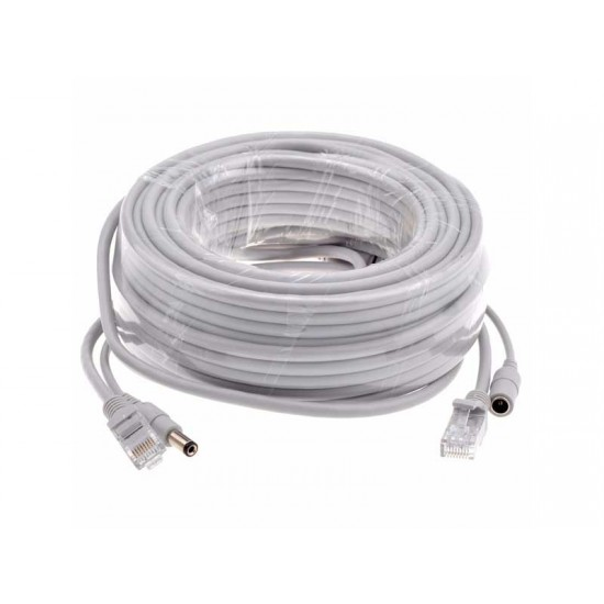 Cablu camera UTP+alimentare 20m