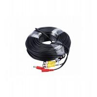 Cablu camera semnal+alimentare 50m