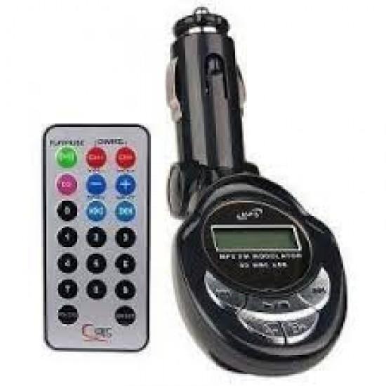 MP3 player auto cu emitator SD/USB/micro SD
