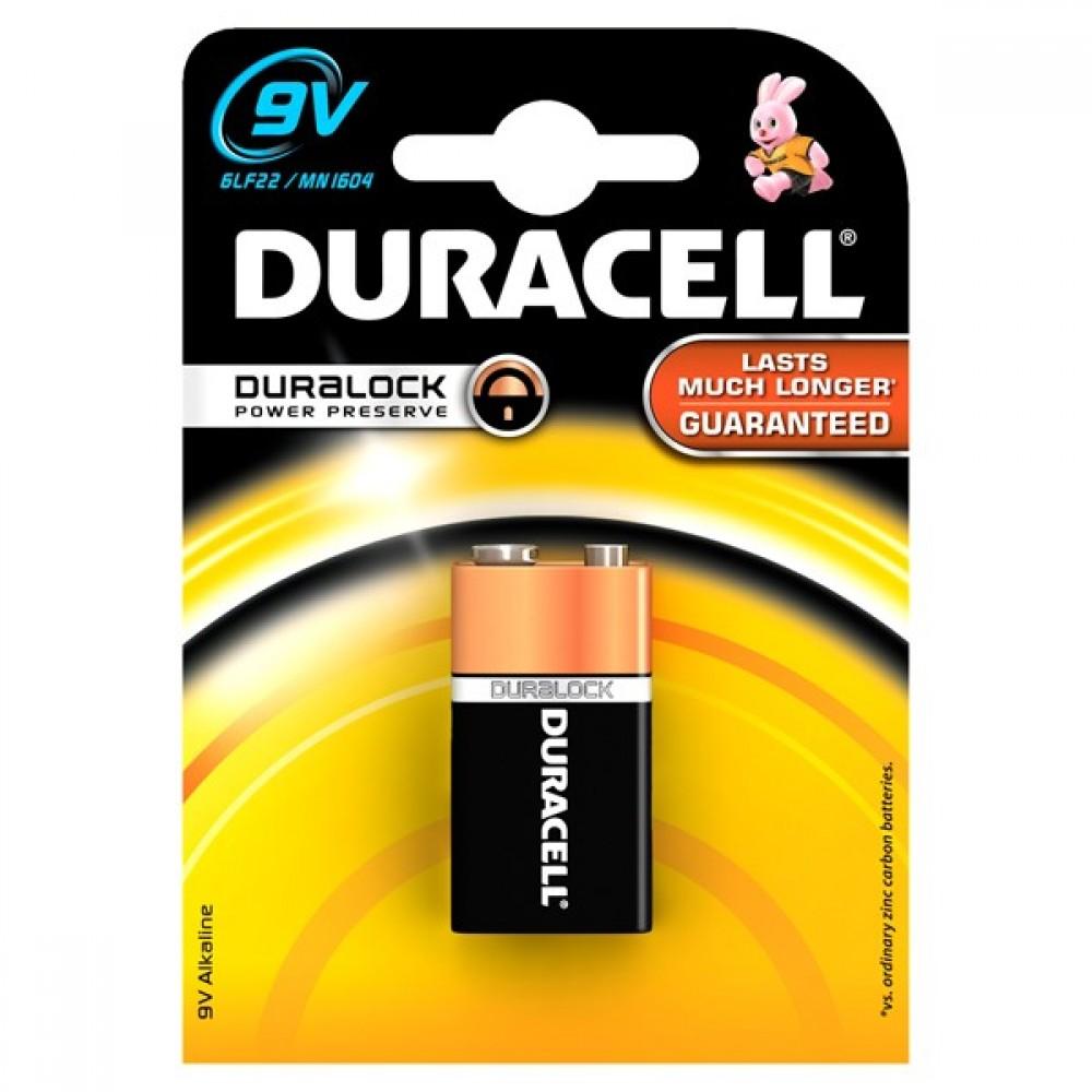 Baterie 9V Duracell Basic
