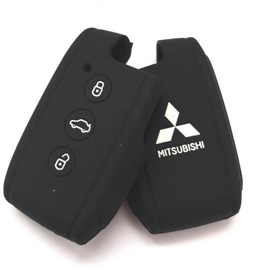 Husa silicon Mitsubishi 3 butoane