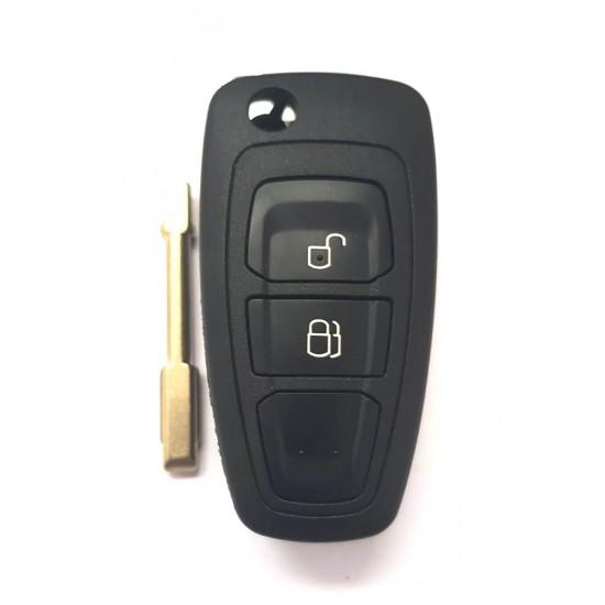 Carcasa cheie briceag Ford Mondeo 2 butoane