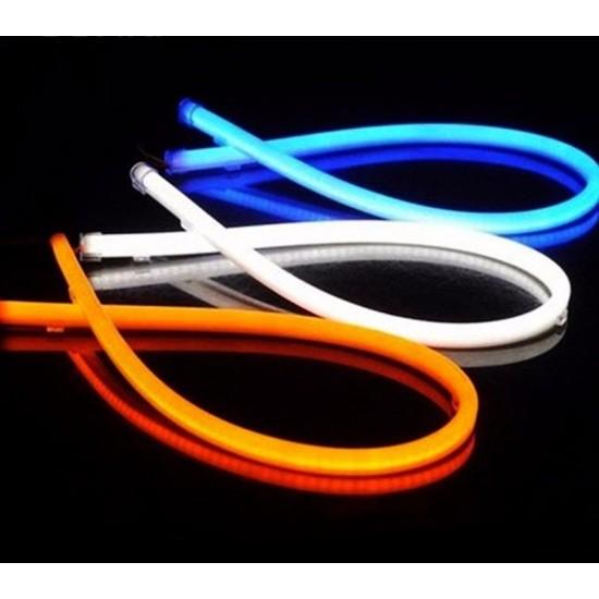 Lumini de zi DRL flexibil alb