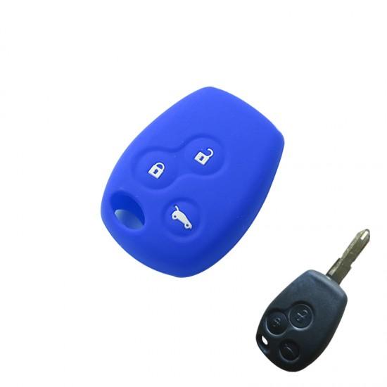 Husa silicon Renault /Logan 3 butoane
