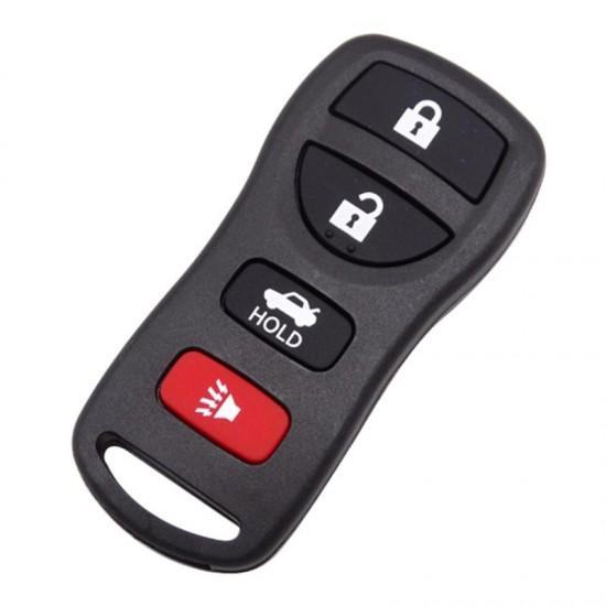 Carcasa cheie Nissan 3+1buton de panica